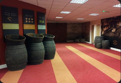 Inside Rhymney Brewery