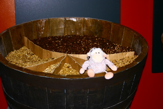 Baabraa enjoying a great day out at the Rhymney Breweries visitor centre