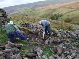 Volunteers helping to preserve the beautiful landscapes