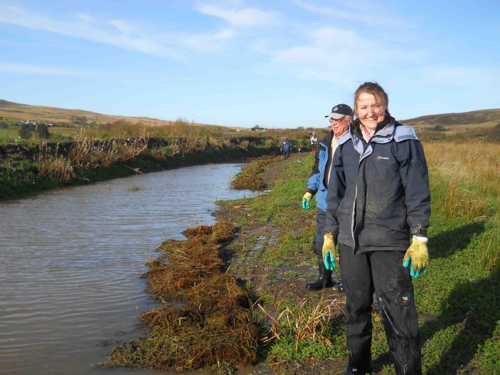 The Conservation Team Reed Bed Planting